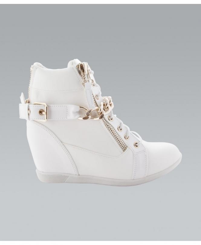 KRISP Patent Heel Fashion Wedge