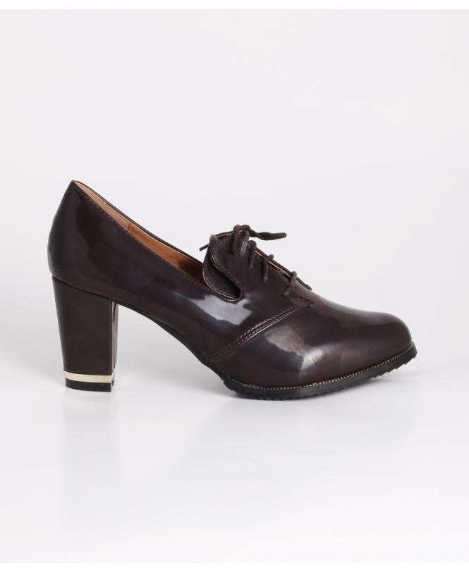 8361ea650 Shop For Womens Heeled Loafers & Brogues | Krisp