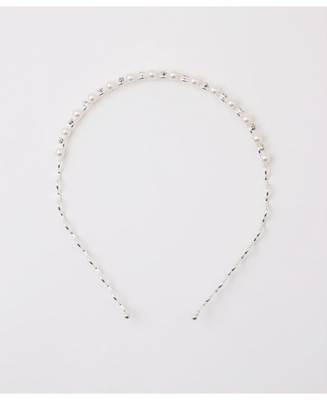 KRISP Pearl and Diamond Hairband