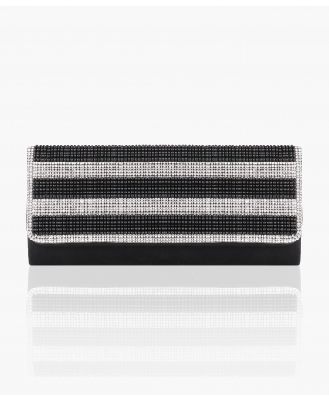 Pearl & Diamante Flap Evening Clutch