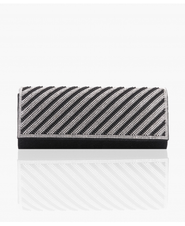 Pearl & Diamante Flap Party Clutch