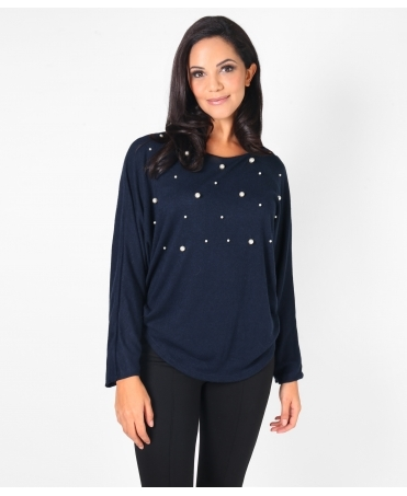 Pearl Spotted Batwing Jumper