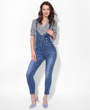 Pinafore Denim Dungaree Jeans