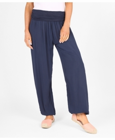 Plain Baggy Harem Trousers