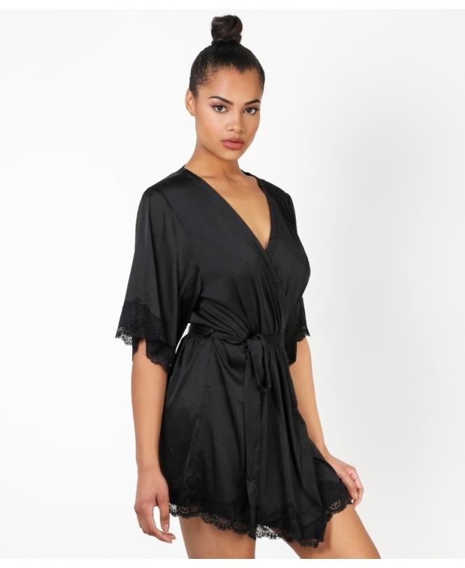 a06ad723fe Ladies Dressing Gowns | Silk & Lace Kimonos |KRISP
