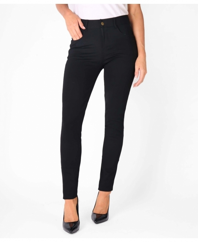 KRISP Skinny Leg Basic Trousers