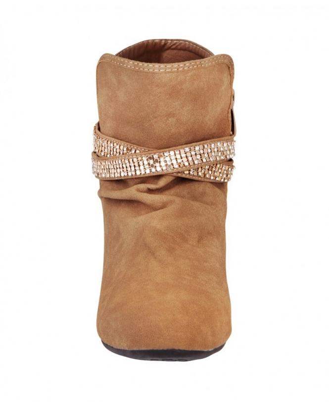 KRISP Slouchy Pixie Ankle Boots - Shoes
