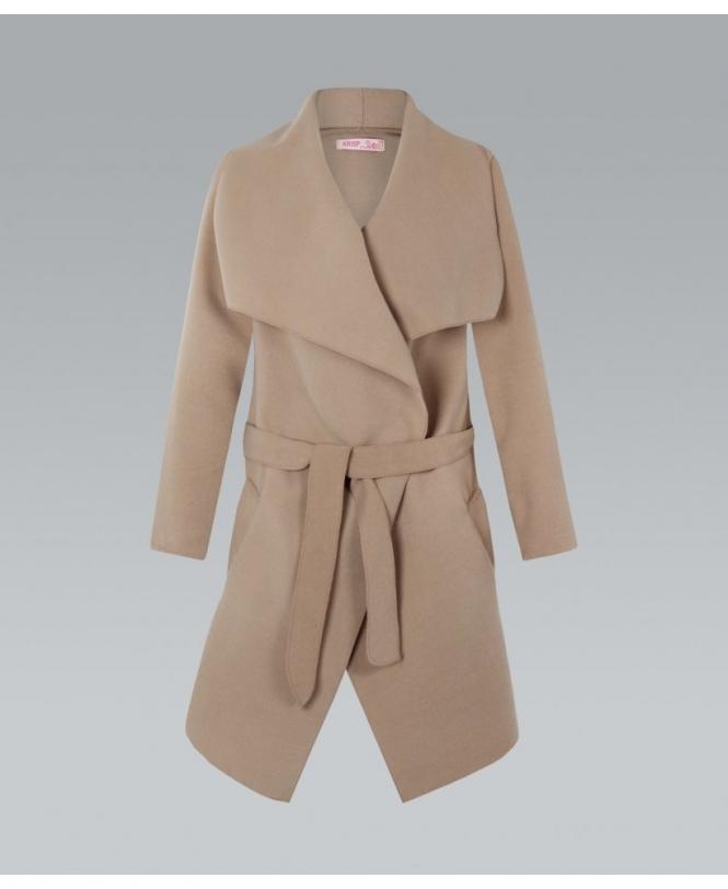 Soft Shawl Collar Coat