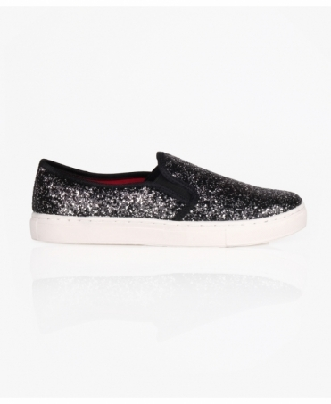 Sparkly Fashion Plimsoll Trainers