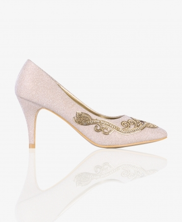 Sparkly Occasion Court Shoes