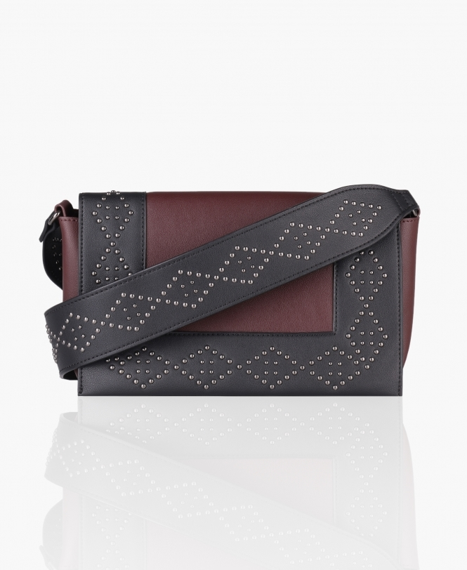 KRISP Studded Colour Block Bag