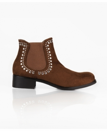 Studded Cowboy Chelsea Boots