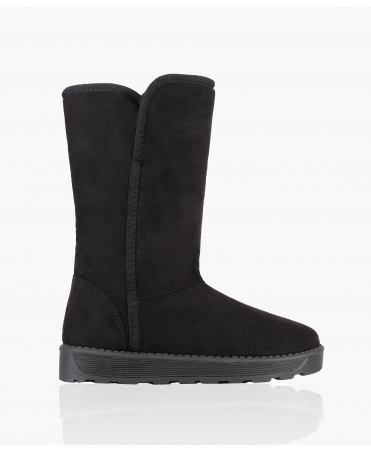 Tall Fur Lined Snug Boots