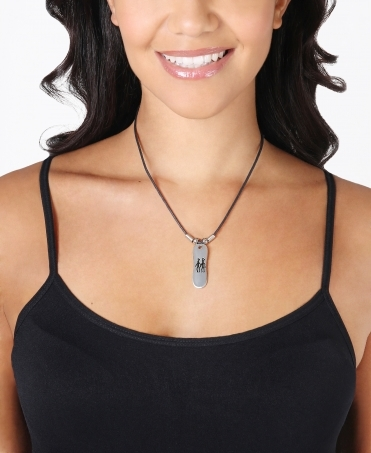 Tribal Pendant String Necklace