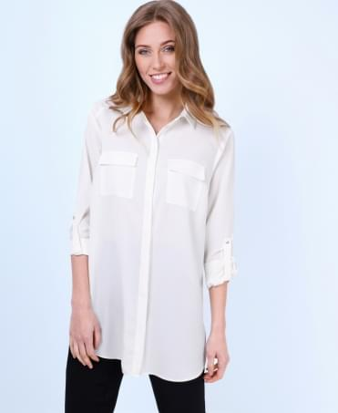 Two Pocket Longline Shirt