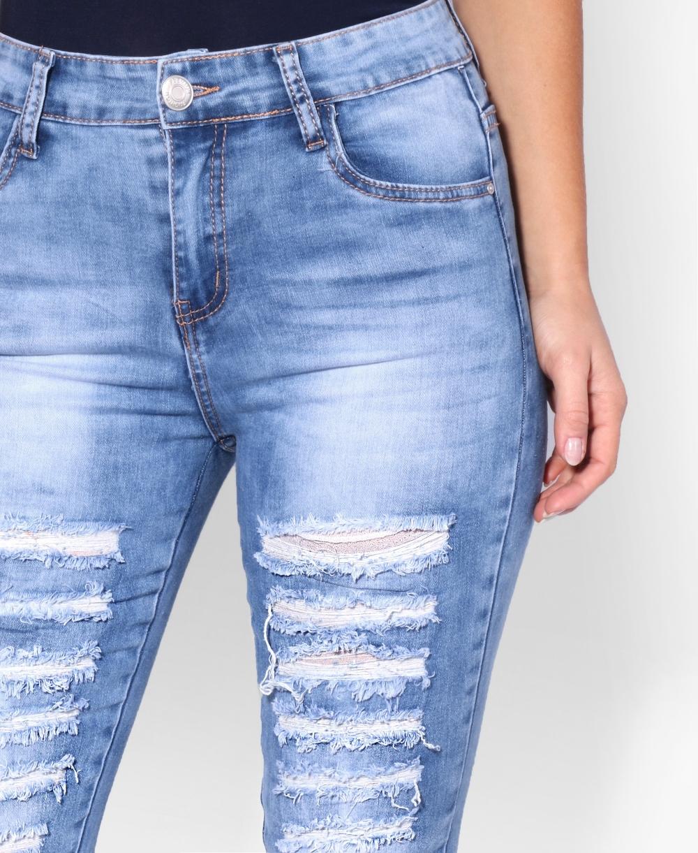 3823b8ab314 Jeans | Ultra-Slim Fit Ripped Jeans | KRISP
