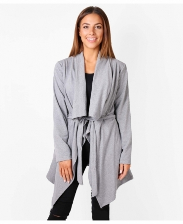 Waterfall Style Jersey Jacket