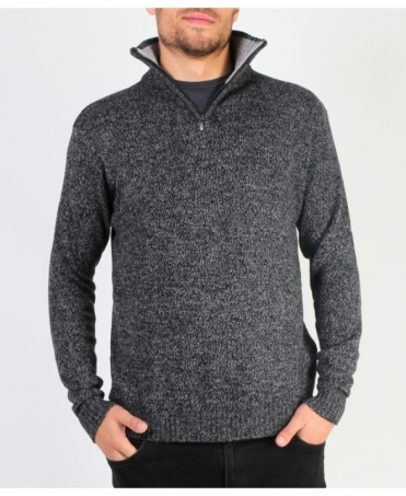 Chunky Knit Half Zip Pullover