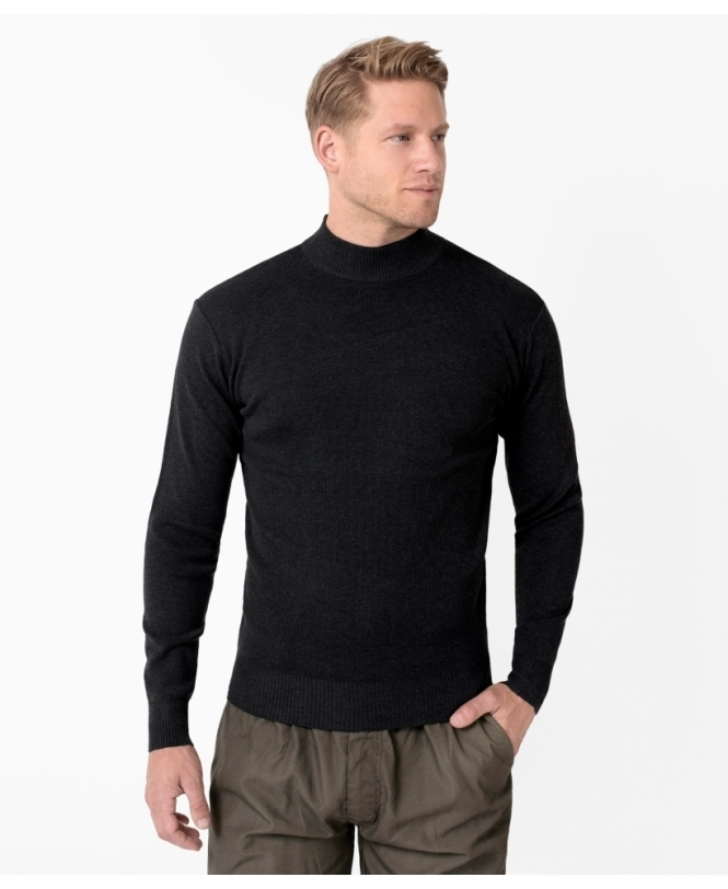 MENS Funnel Neck Woollen Jumper