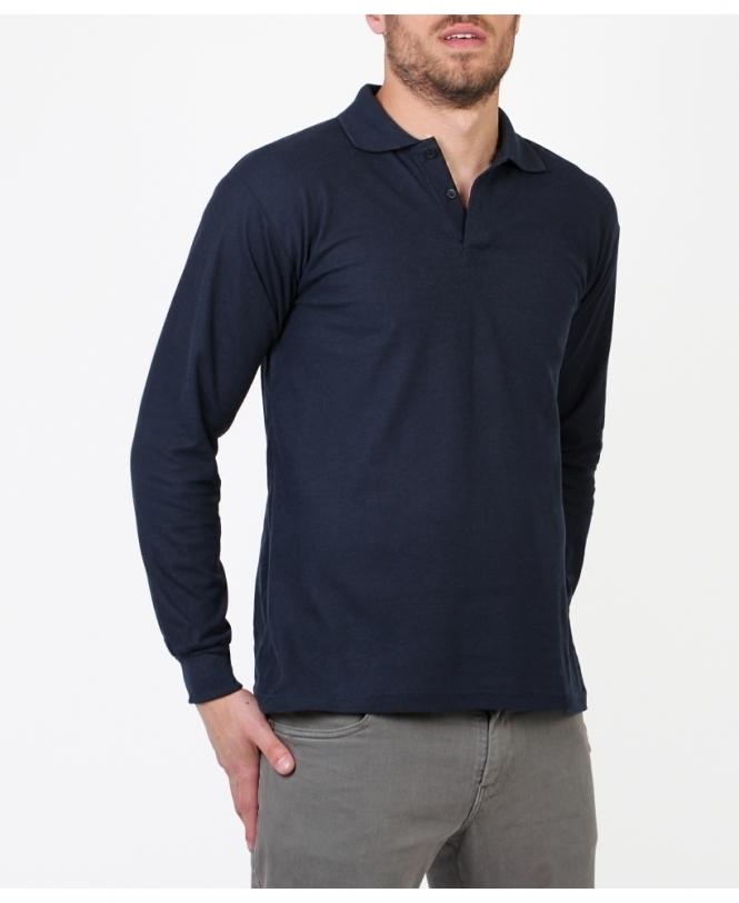 Long Sleeve Polo Shirts For Men | KRISP MENS