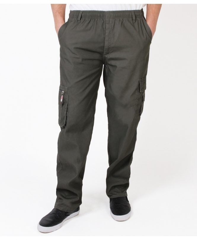 MENS Pull On Cargo Trousers