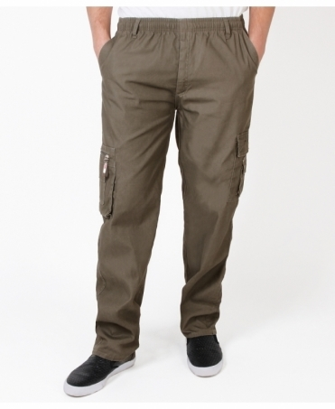 Pull On Cargo Trousers