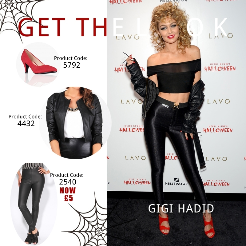 80a66fec983c6 Sandy Olsson (Grease) by Gigi Hadid - Krisp Clothing Look Book