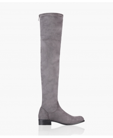 Over The Knee Faux Suede Boots