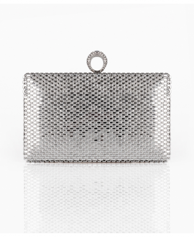 Ring Clasp Evening Clutch